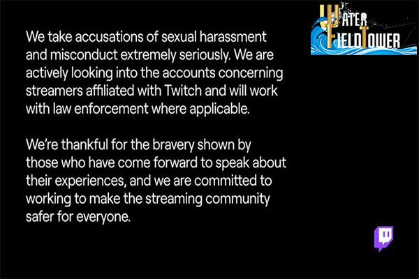 Twitch ให้คำมั่นว่าจะทำให้เว็บไซต์ปลอดภัยมากขึ้น หลังมีข่าวสตรีมเมอร์พูดเหยียดเพศระหว่างสตรีม ข้อมูล ความรู้ ข่าวสาร Game Twitch